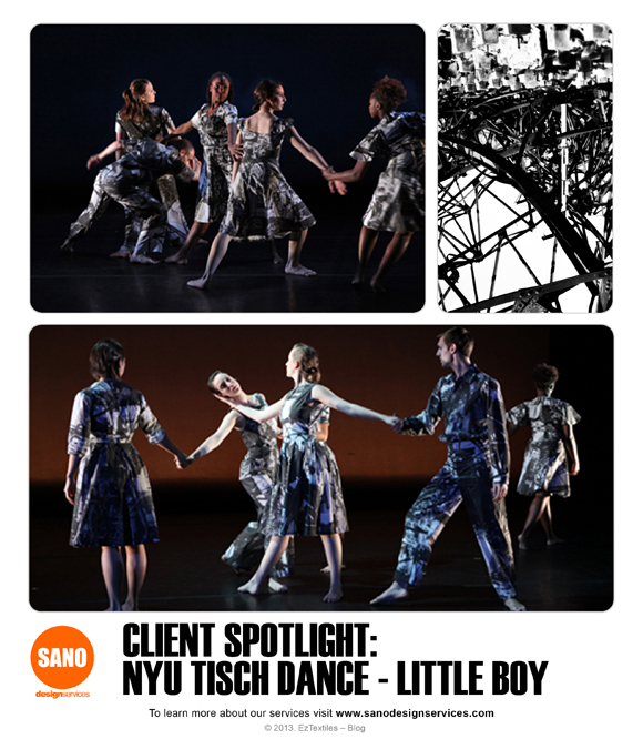 CLIENT SPOTLIGHT-NYU-TISCH-DANCE-LITTLE BOY-CUSTOM FABRIC PRINTING