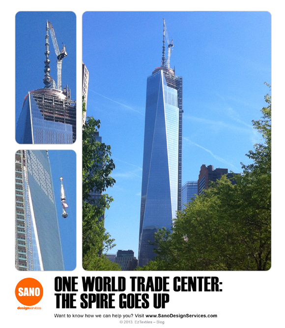 Enjoy these images we took of the One World Trade Center